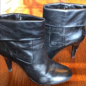 Michael by Michael Kors leather booties